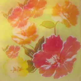 1008. Яркие цветы. 10 шт., 5,5 руб/шт