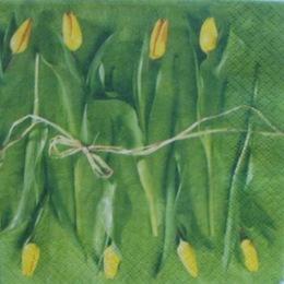 1057. Желтые тюльпанчики. 10 шт., 5,5 руб/шт
