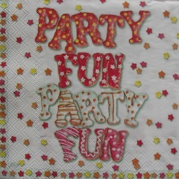 1101. Party fun, 5 шт., 9 руб/шт