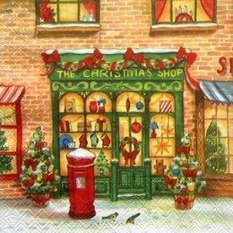 12021. The Christmas shop. 5 шт. 24 руб/шт