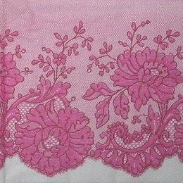 12084. Розовое кружево. 5 шт., 20 руб/шт