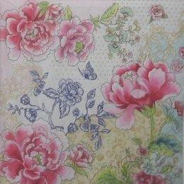 12092. Разноцветные цветы. 10 шт., 17 руб/шт