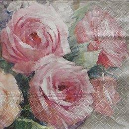 12111. Розы винтаж.