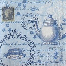 12142. Голубое чаепитие.