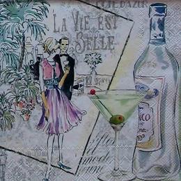 12148. Бутылочка мартини.