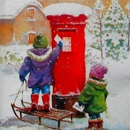 12179. Письма для Деда Мороза. 10 шт., 17 руб/шт