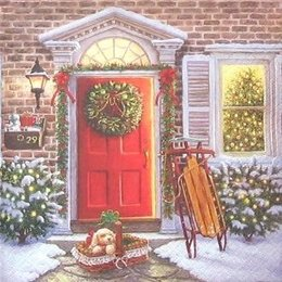 12181. Подарок на Рождество. 5 шт.