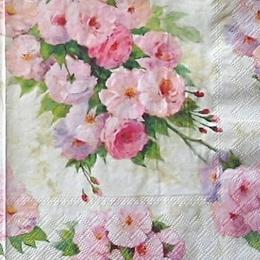 12233. Акварельные розы. 15 шт., 12 руб/шт