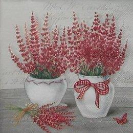 12266. Полевые цветы в горшках.