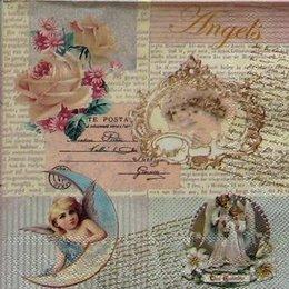 12267. Ангелы на письменах. 10 шт., 18 руб/шт