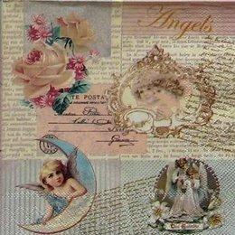 12267. Ангелы на письменах. 20 шт., 10 руб/шт