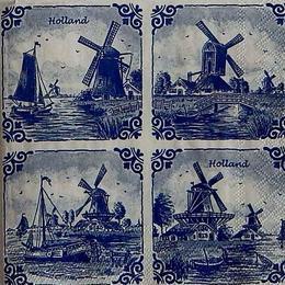 12283. Голландия в квадратах. 5 шт., 23 руб/шт