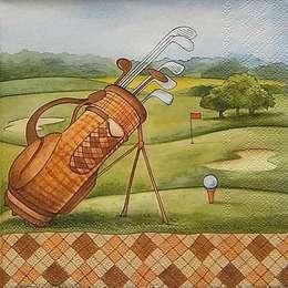12323. Поле для гольфа. 10 шт., 21 руб/шт