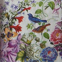 12343. Цветы и птицы. 5 шт., 20 руб/шт