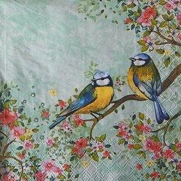 12352. Птицы на ветке. 5 шт., 20 руб/шт
