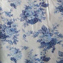 12354. Синие розы. 10 шт., 21 руб/шт