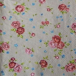 12356. Мелкие розы