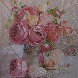 12361. Розы в кувшине. 5 шт., 23 руб/шт