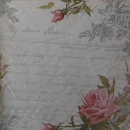 12366. Розы на письме. 5 шт., 28 руб/шт