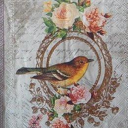 12406. Птица в рамке