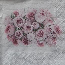 12419. Розы на письменах. 10 шт., 27 руб/шт