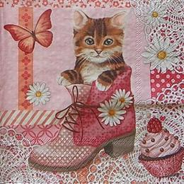 12463. Кот в ботинке. 5 шт., 20 руб/шт