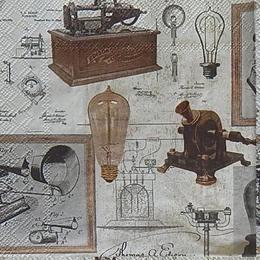 12475.Изобретения Т.А.Эдисона. 10 шт., 21 руб/шт
