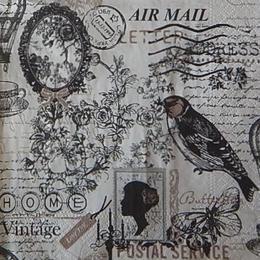 12479. Птица и винтаж