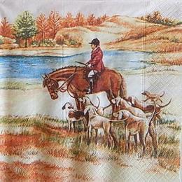 12480. Охотник на коне. 10 шт., 21 руб/шт