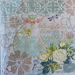 12520. Розы и кружева. 10 шт., 17 руб/шт