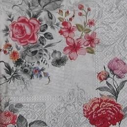 12578. Цветы на письме. 5 шт., 17 руб/шт