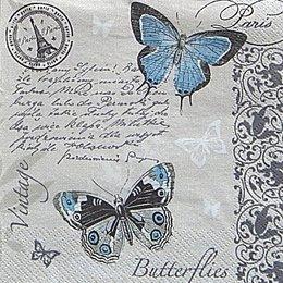 12589. Бабочки на письменах. 5 шт., 17 руб/шт