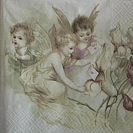 12605. Ангелы с письмами. 5 шт., 31 руб/шт