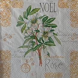 12644. Noel rose. 5 шт., 20 руб/шт