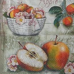12650. Яблочная корзина. 10 шт., 17 руб/шт