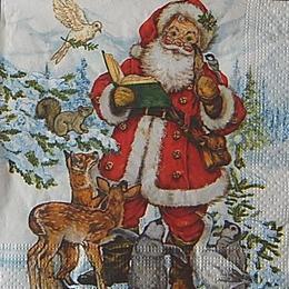 12681. Дед мороз и звери. 5 шт., 17 руб/шт