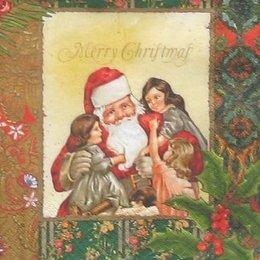 12720. Дед Мороз и девочки. 20 шт., 12 руб/шт