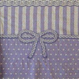 12812. Фиолетовый узор 15 шт., 16 руб/шт