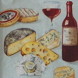 12926. Вино и сыр. 5 шт., 14 руб/шт