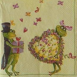 12928. Влюбленные лягушки