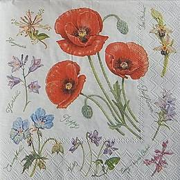 12966. Луговые цветы. 10 шт., 18  руб/шт
