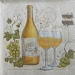 12977. Белое вино. 10 шт., 18  руб/шт