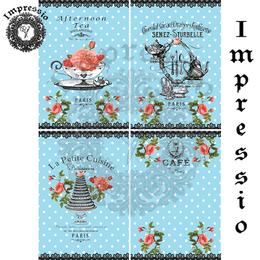 14581. Декупажная карта  Impressio, плотность 45 г/м2