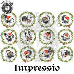 14972. Декупажная карта Impressio, плотность 45 г/м2