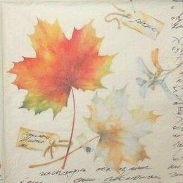 1538. Осенние листья. 5 шт., 16 руб/шт