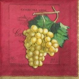 12847. Виноград на бордо. 10 шт., 7 руб/шт