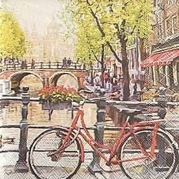 20000. Велосипед на мосту. 5 шт., 24  руб/шт