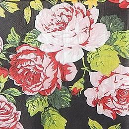 20009. Розы на черном