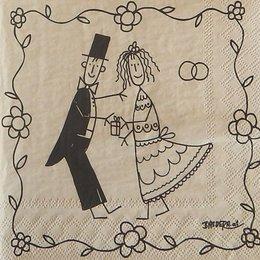 20020. Жених и невеста. 15 шт., 16 руб/шт
