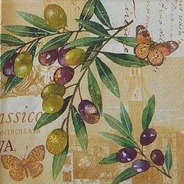 20027. Бабочки на оливках